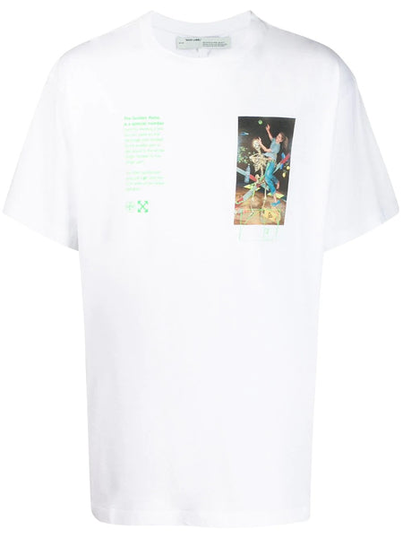 PASCAL PAINTING S/S OVER TEE WHITE MULTI