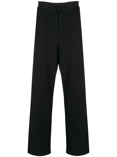 STRAIGHT TERRY WIDE LEG PANT