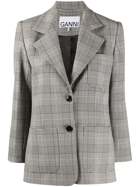 BOXY FIT BREASTED BLAZER