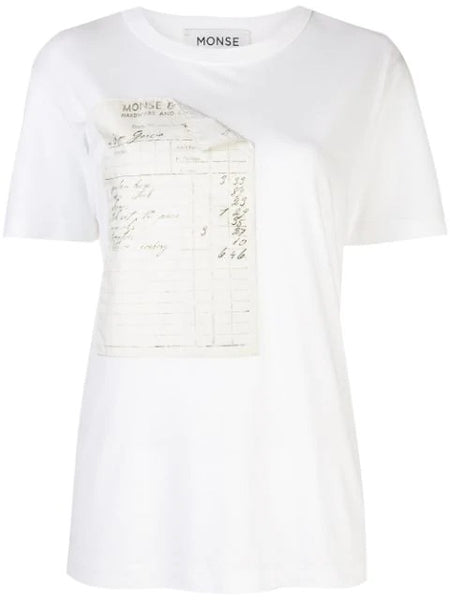 RECEIPT GRAPHIC TEE