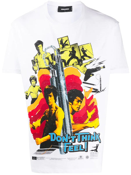 BRUCE LEE PRINT DON'T THINK FEEL