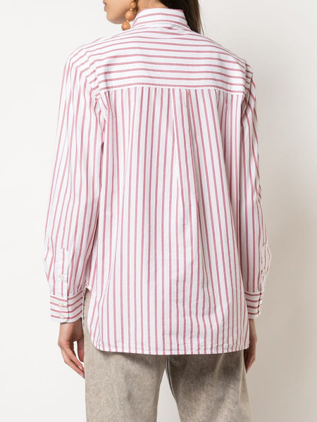STRIPED PRINT SHIRT