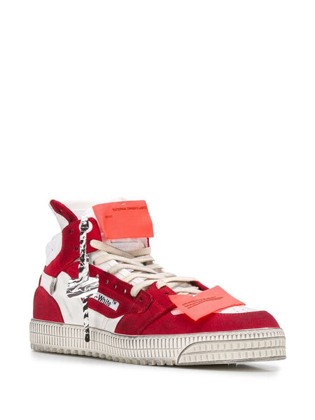 OFF COURT SNEAKER WHT RED