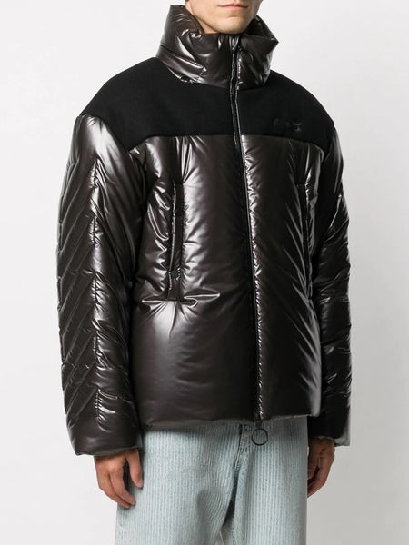 DOWN PUFFER JACKET BROWN NOCOLO