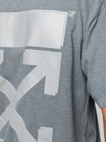 ARROWS MOTTLED JERSEY CASUAL TEE GRY GRY