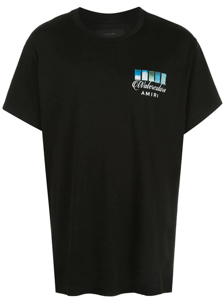 WATERCOLOR SWATCHES T-SHIRT BLK