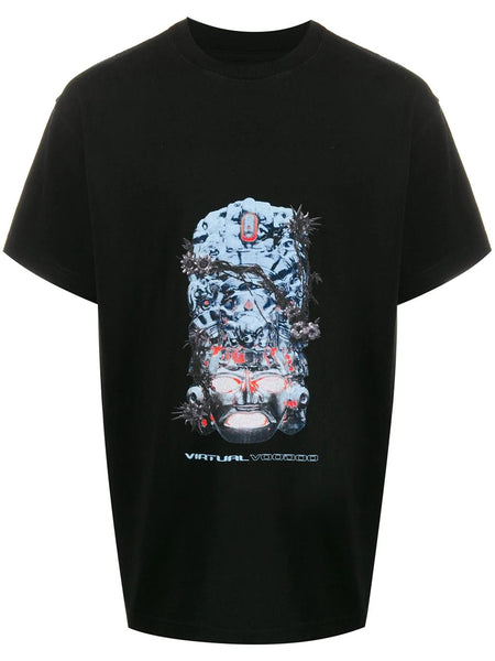 MOJO MASK GRAPHIC PRINT T-SHIRT