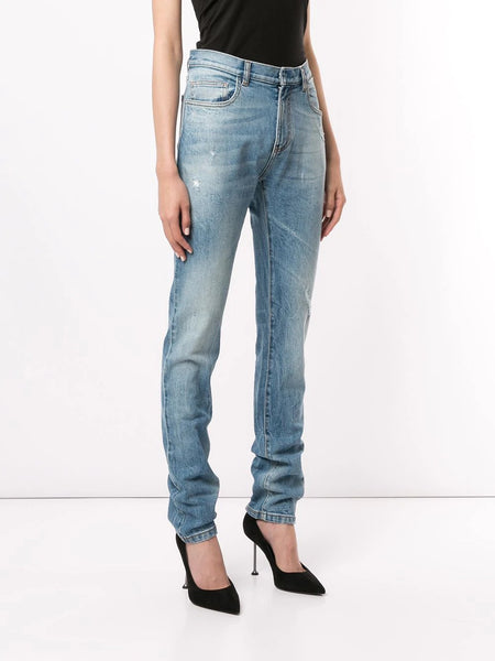 DENIM PANTS SKINNY P 450 LIGHT BLUE