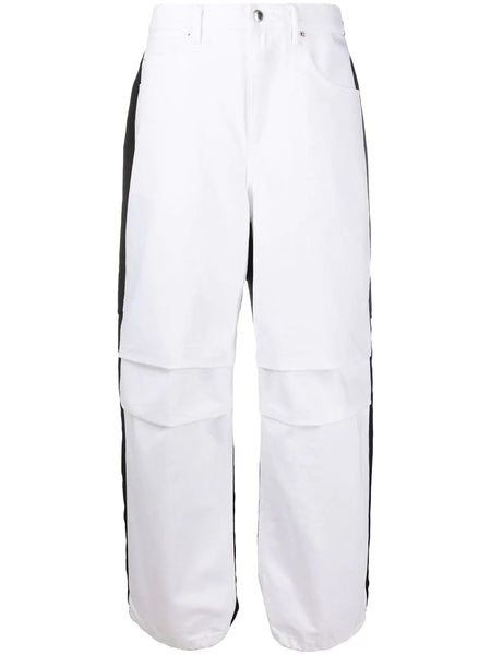 PACK MIX HYBRID CARGO JEANS WHITE W BLACK NYLON WHT