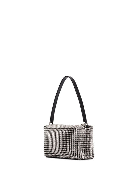 MEDIUM WANGLOC RHINESTONE EMBELLISHED CLUTCH BAG