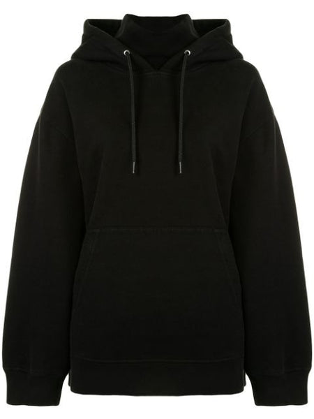 SOFT FLEECE HOODIE W/ INCORPORATED TURTLE NECK