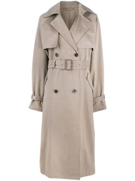 OCTA DOUBLE BREASTED BELTED TRENCH COAT