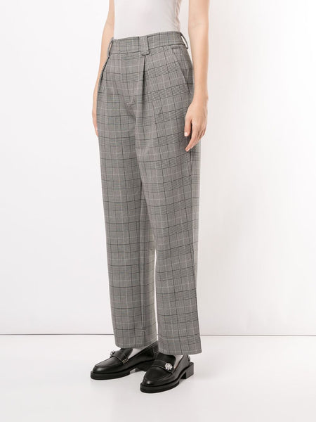 SUITING PLEATED PANTS