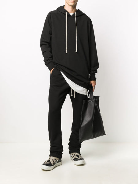 DRAWSTRING DROPPED CROTCH P/TROUSERS 09 BLK