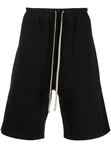 KNEE LENGTH DRAWSTRING SHORTS 09 BLK