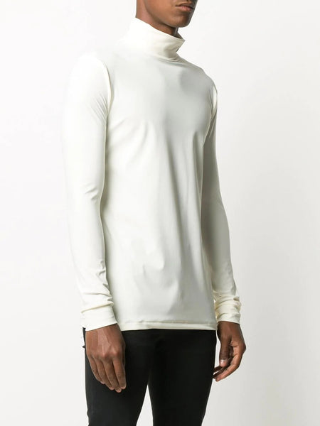 ROLL NECK LONG SLEEVE T-SHIRT CRM