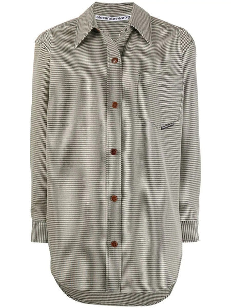 OVERSIZED SHIRT JACKET WITH SNAP BUTTONS
