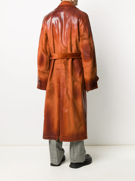 HEAVY WAXED CORDURY COAT AUBR