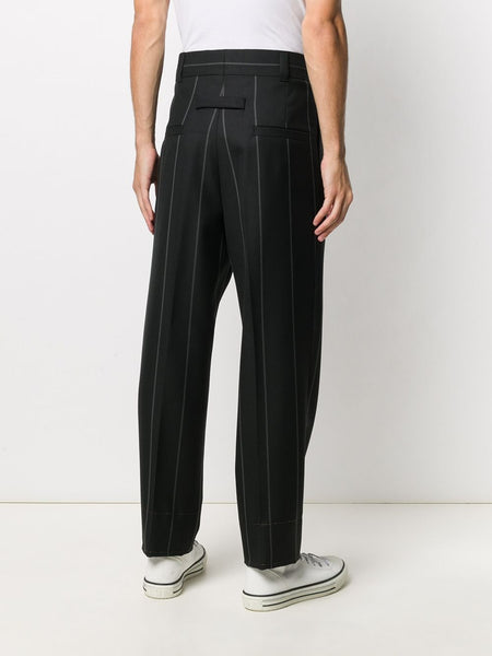 PINSTRIPE TAILORED TROUSERS 7B