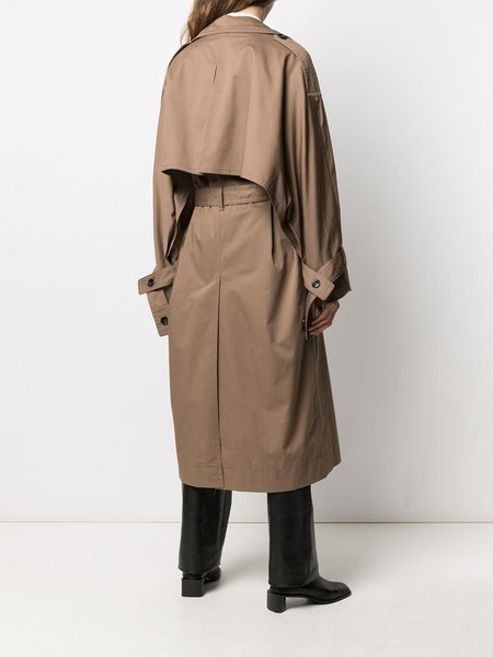 ODANDE CHINO BELTED TRENCH COAT ADV