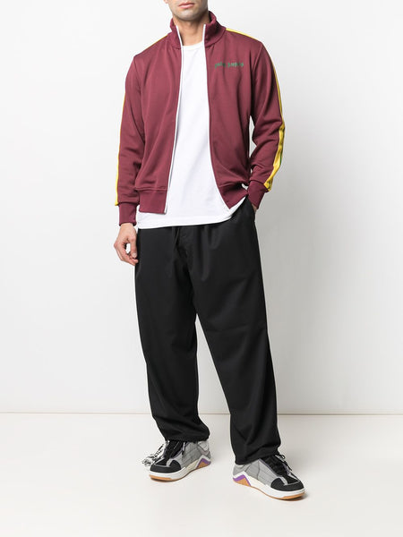 STRIP SLEEVE COLLEGE TRACK JACKET