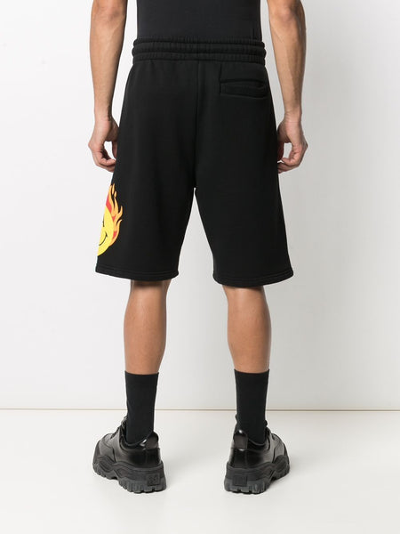 BURNING HEAD TRACK SWEATSHORTS