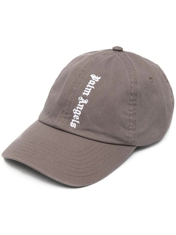 NS EMBROIDERED LOGO CAP MILITARY GRN WHT