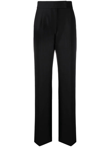TAILORED WOOL FLARED TROUSERS