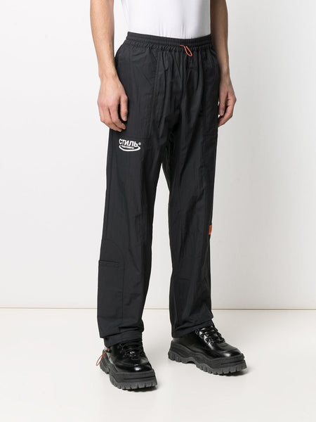 LOGO PATCH CTNMB NYLON TRACK PANTS