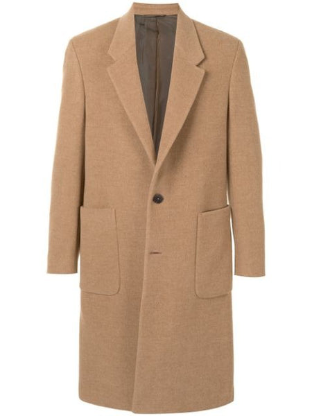 TAILORED SINGLE BREASTED COAT NS