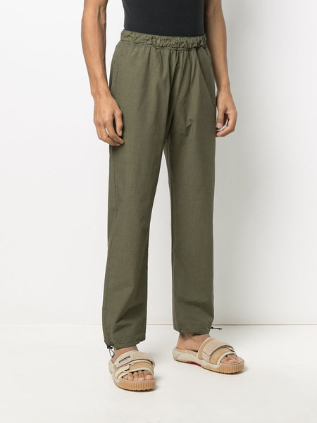 ELASTICATED DRAWSTRING ANKLE CARGO PANTS