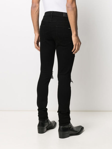 MX1 MID RISE SKINNY JEANS 001 BLK