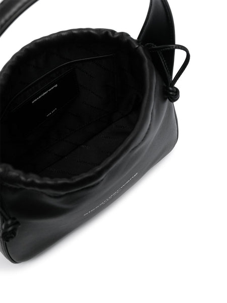 RYAN SMALL BAG BLACK LEATHER