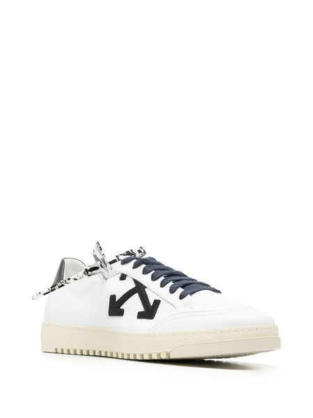 ARROWS MOTIF 2.0 LACE-UP SNEAKERS WHT BLK