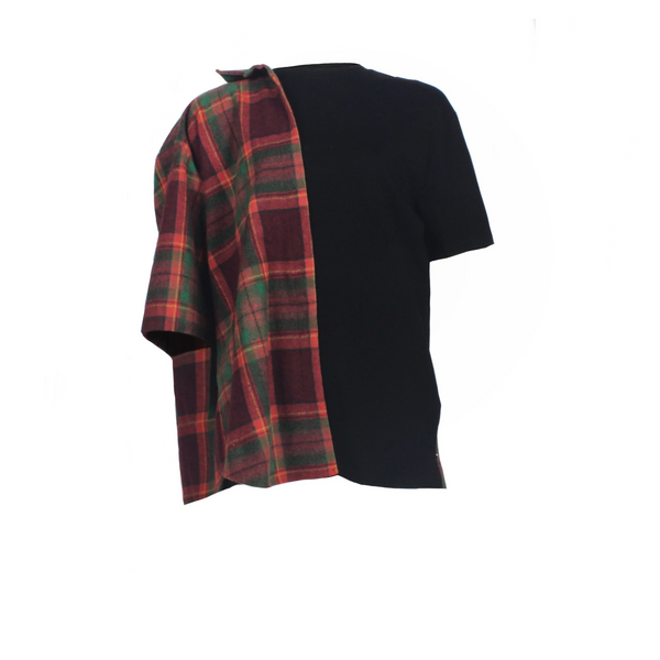 FLANNEL WITH T-SHIRT TEE