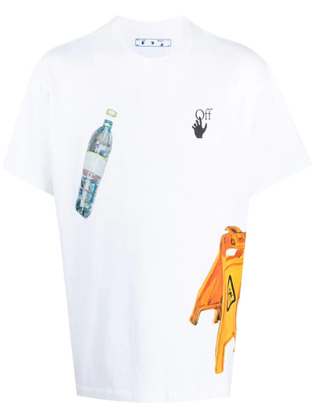 PASCAL MEDICINE S/S OVERSIZE TEE WHT BLK