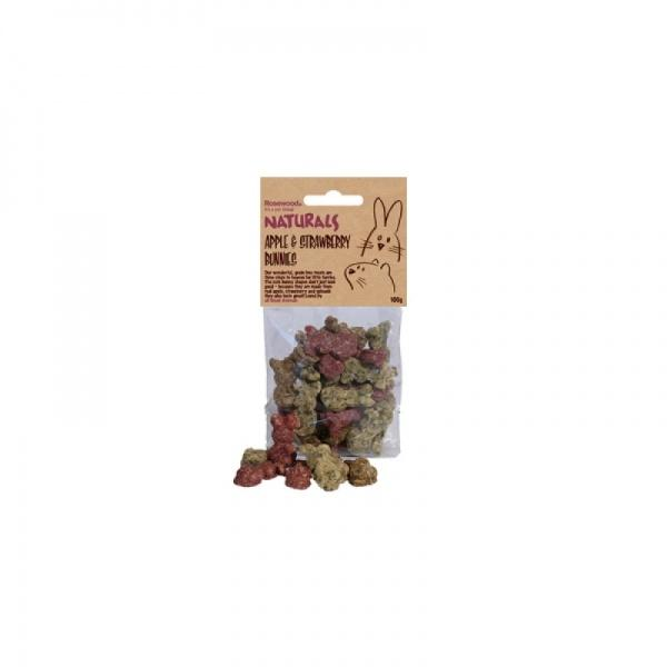 Apple & Strawberry Bunnies 100g