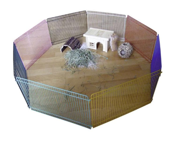 Small 8-sided Playpen- Hamster