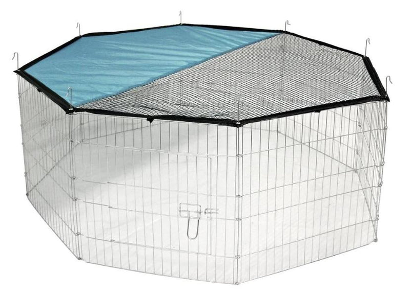 Play pen-large 8 panels with safety net