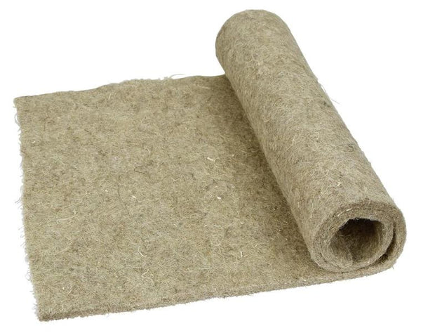 Hemp matting for small animal cages