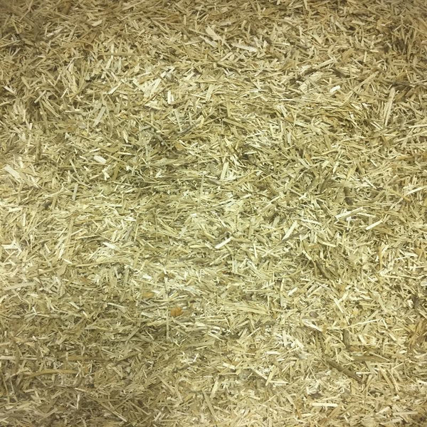 Chopped flax loam Bedding