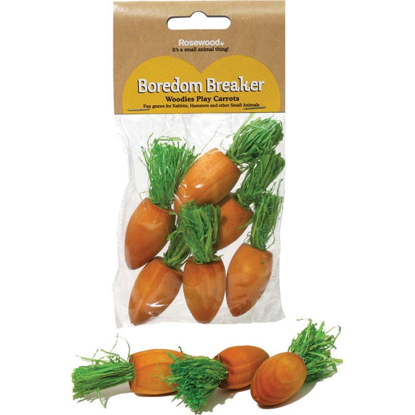 Woodies Play Carrots 6 pk