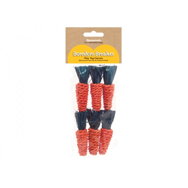 Sisal Carrots- 6 Pack