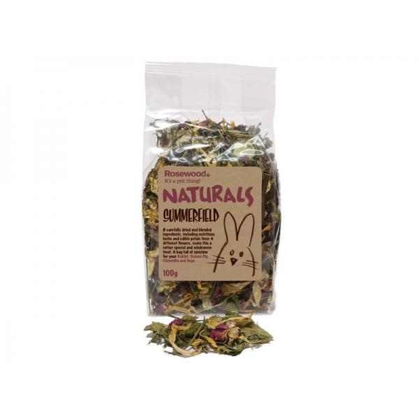NATURALS SUMMERFIELD FLOWER HERB & PETAL 100g