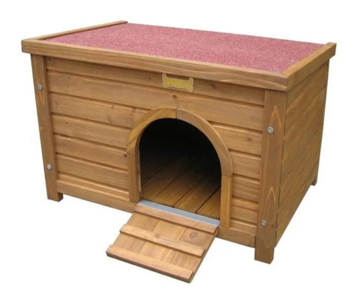 Small animal wooden house