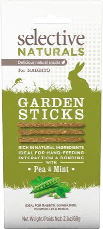Selective Naturals Garden Sticks with Pea & Mint