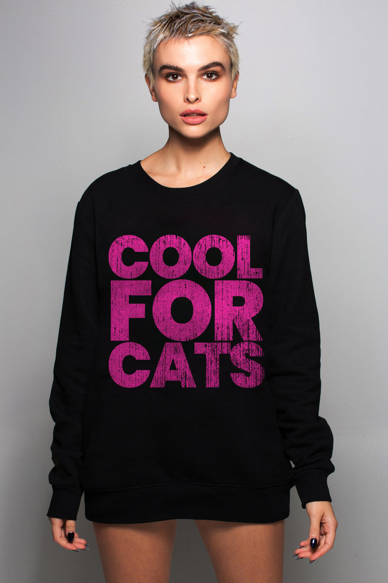 Sknhead Streetwear Cool For Cats Sweatshirt - Sknhead Street Wear