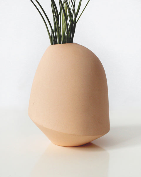 Bean & Bailey Melon Birdie Bud Vase