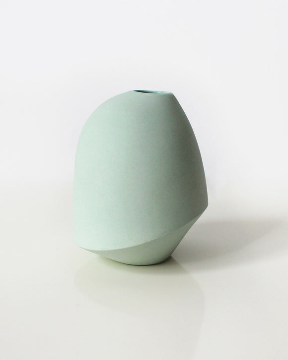 Sculptural Mint Bud Vase | Bean & Bailey