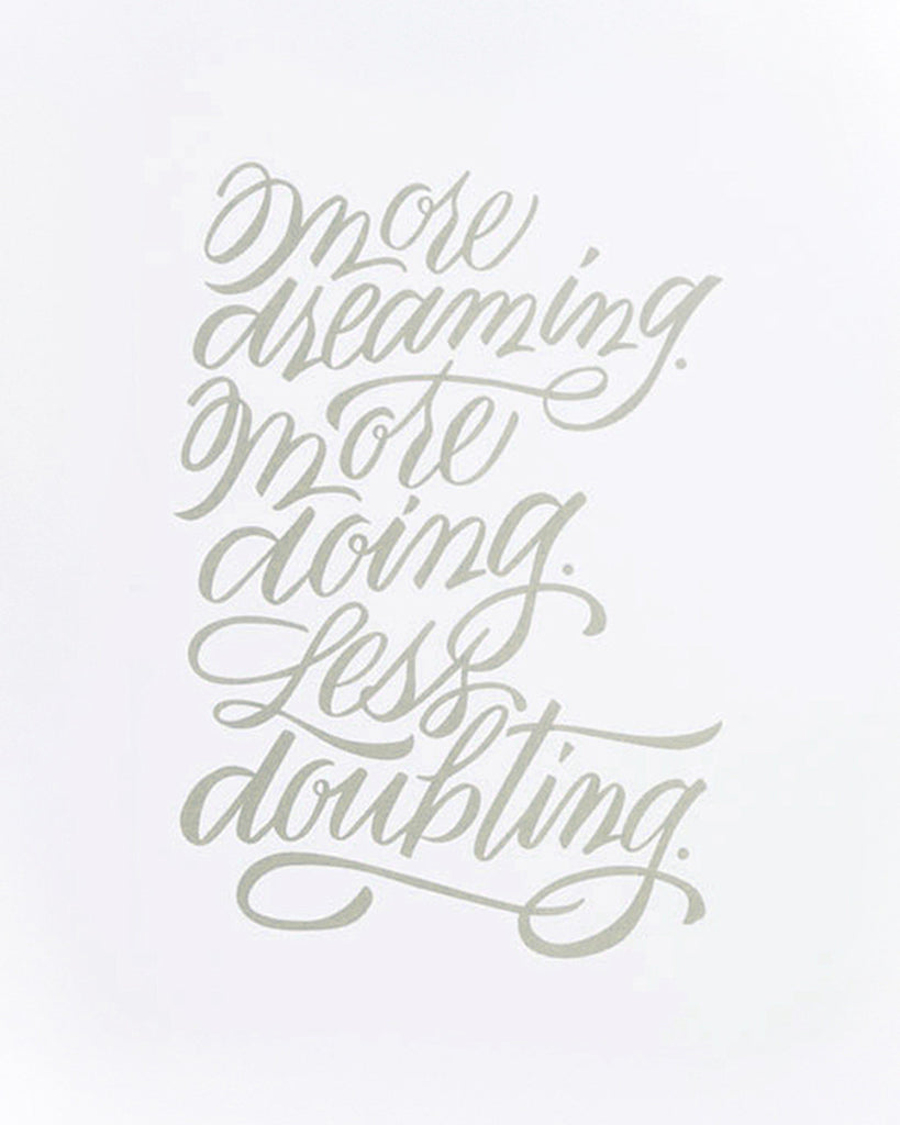 "Betsywhite Stationery More Dreaming 8""x10"" Print - Betsywhite Stationery"